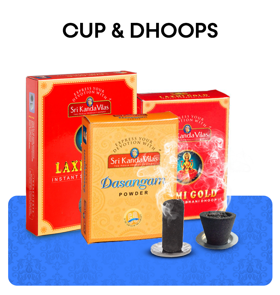 Cup & Dhoops